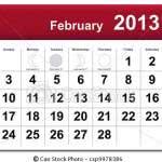 Calendário Fevereiro – Feriados, Datas Comemorativas