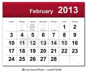 fevereiro 300x246 Calendário Fevereiro   Feriados, Datas Comemorativas