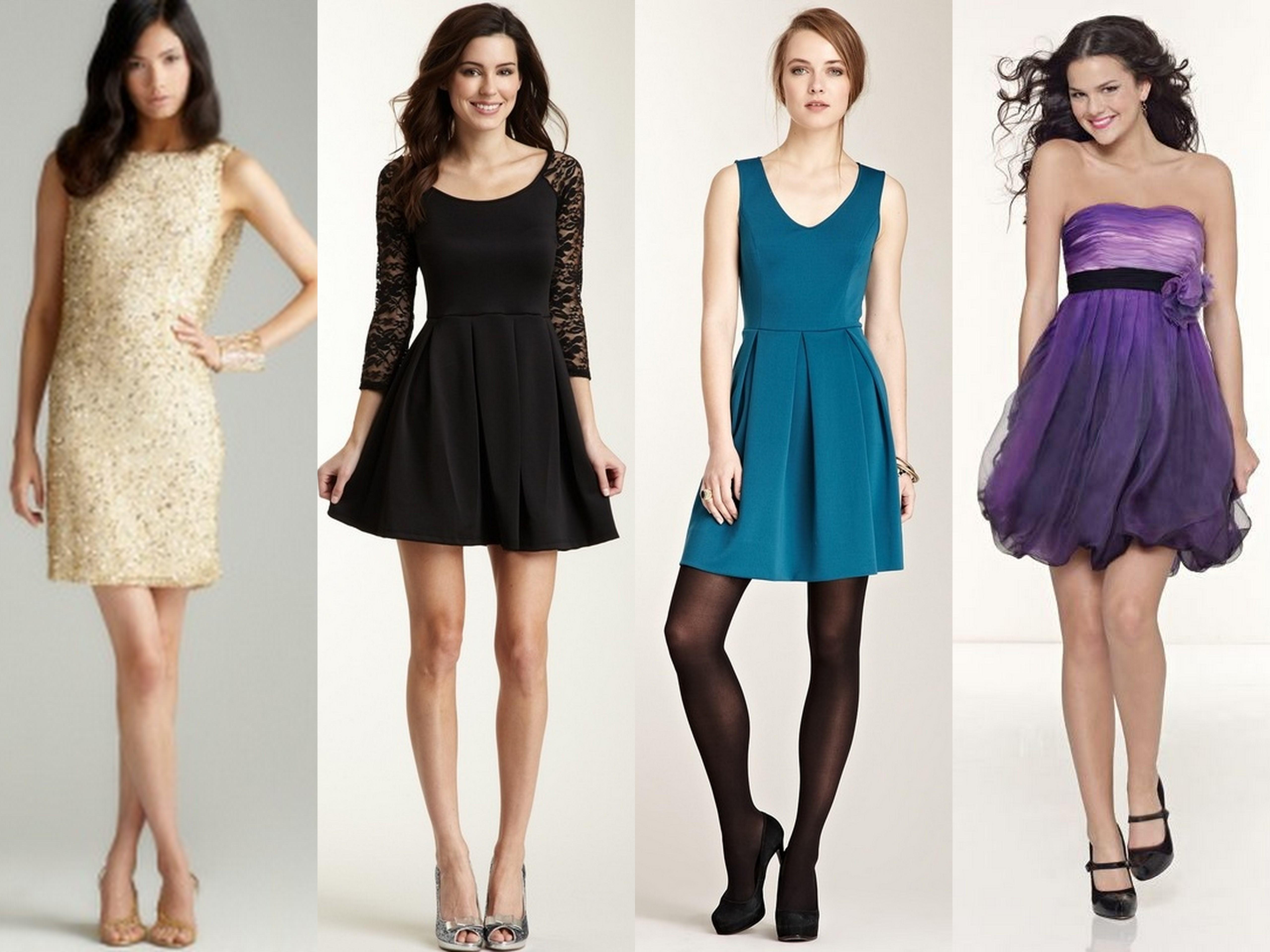 vestido4 Vestidos para Formatura Curtos – Fotos