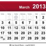 Calendário Março – Feriados, Datas Comemorativas