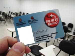 bilhete unico estudante 300x224 Bilhete Único de Estudante SPTrans