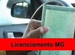 licenciamento mg Licenciamento MG   Valor, Consulta, Tabela